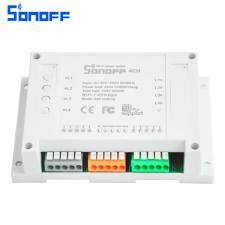 4-х канальный Wi-Fi выключатель Sonoff